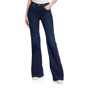 7 For All Mankind Dojo Jeans Flare Distressed 27